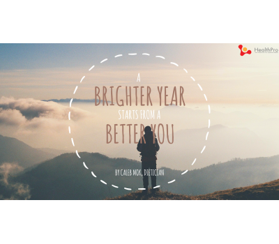 A Brighter Year Starts from a Better You