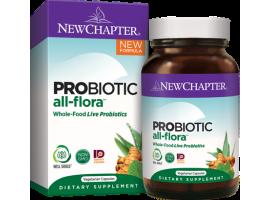 New Chapter Probiotic All-Flora, 30 vege caps