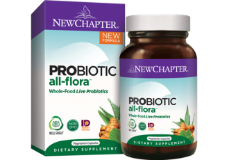 New Chapter Probiotic All-Flora, 30 vege caps