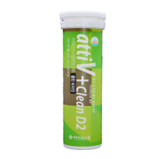 AttiV+ Clean D2, 10 Effervescent Tablets