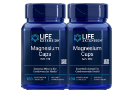 [BUNDLE] Life Extension Magnesium Caps 500 mg, 100 vege caps
