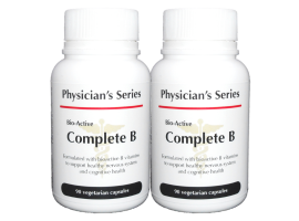 [BUNDLE] Physician's Series Bio-Active Complete B, 90 vege caps