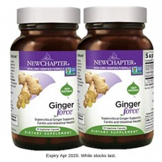 [BUNDLE] New Chapter Ginger Force®, 30 liquid vege caps (Expiry Apr 2020)