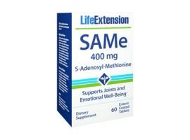 SAMe (S-Adenosyl-Methionine) 400 mg, 60 enteric coated tablets