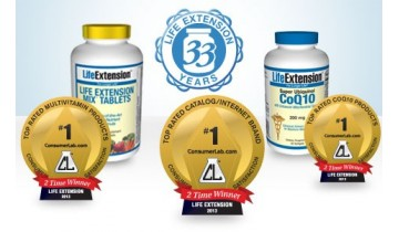Life Extension: Rated Number One By Dietary Supplement Customers for second consecutive year