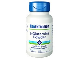 Life Extension L-Glutamine Powder, 100g (Expiry Aug 2018)