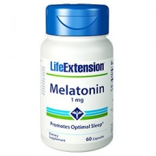 Life Extension Melatonin 1mg, 60 capsules (Expiry Jan 2019)