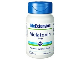 Life Extension Melatonin 1mg, 60 capsules (Expiry Oct 2018)