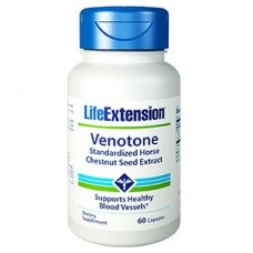 Life Extension Venotone (Standardized Horse Chestnut Seed Extract), 60 capsules