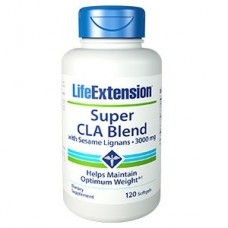Life Extension Super CLA Blend with Sesame Lignans 1000mg, 120 softgels (Buy 1 get 1 free) (Expiry 07/2018)