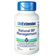 Life Extension Natural BP Management, 60 tablets (Expiry Jul 2019)
