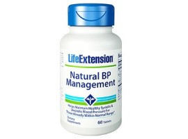 Life Extension Natural BP Management, 60 tablets (Expiry Sept 2018)