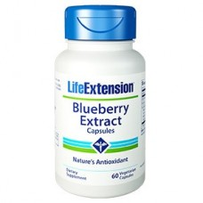 Life Extension Blueberry Extract, 60 vege caps