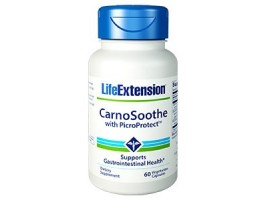 Life Extension Carnosoothe with PicroProtect™, 60 vege caps (Expiry May 2018)