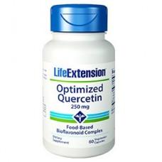 Life Extension Optimized Quercetin 250mg, 60 vege caps (Expiry Nov 2019)