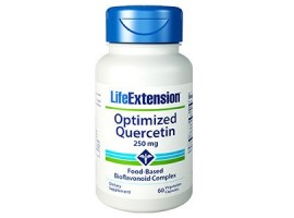 Life Extension Optimized Quercetin 250mg, 60 vege caps (Expiry Nov 2019)
