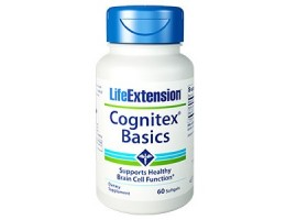 Life Extension Cognitex Basics, 60 softgels