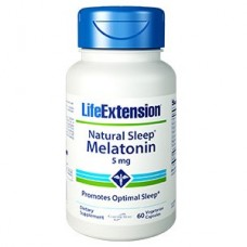 Life Extension Natural Sleep® Melatonin 5 mg, 60 vege capsules