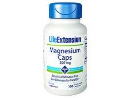 Life Extension Magnesium Caps 500 mg, 100 vege caps