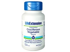 Life Extension Triple Action Cruciferous Vegetable Extract, 60 vegetarian capsules (Expiry Dec 2018)