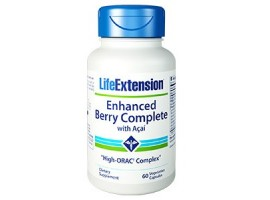 Life Extension Enhanced Berry Complete with Acai, 60 vege caps   (Expiry Sept 2018)