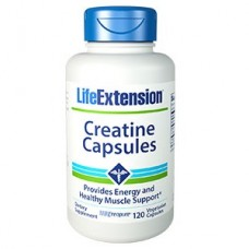 Life Extension Creatine Capsules, 120 vege capsules (Expiry Jan 2019)