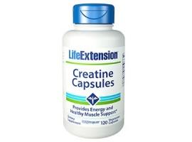 Life Extension Creatine Capsules, 120 vege capsules