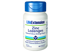 Life Extension Zinc Lozenges, 60 vegetarian lozenges