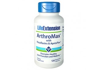 Life Extension ArthroMax™ with Theaflavins & AprèsFlex™, 120 vege caps