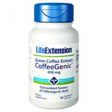 Life Extension CoffeeGenic® Green Coffee Extract (containing GCA™) 400mg, 90 vege capsules
