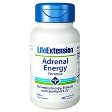 Life Extension Adrenal Energy Formula, 60 vege caps (Expiry Jul 2019)