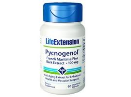 Life Extension Pycnogenol® 100mg, 60 vege capsules (Expiry Nov 2018)