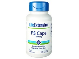 Life Extension PS Caps (Phosphatidylserine) 100mg, 100 vege capsules
