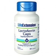 Life Extension Lactoferrin (apolactoferrin) Caps, 60 capsules