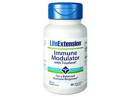 Life Extension Immune Modulator with Tinofend®, 60 vege caps