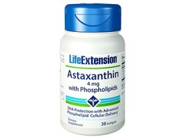 Life Extension Astaxanthin with Phospholipids 4mg, 30 Softgels