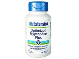 Life Extension Optimized Trytophan Plus, 90 vege capsules