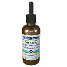Life Extension Fast-Acting Liquid Melatonin, 2 fl oz (59 mL)