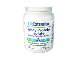 Life Extension Whey Protein Isolate (Natural Chocolate Flavor), 437 grams