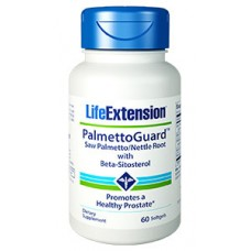 Life Extension PalmettoGuard™ Saw Palmetto/Nettle Root Formula with Beta-Sitosterol, 60 softgels (Expiry Oct 2018)