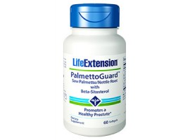 Life Extension PalmettoGuard™ Saw Palmetto/Nettle Root Formula with Beta-Sitosterol, 60 softgels