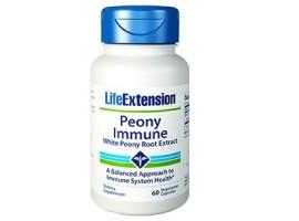 Life Extension Peony Immune 600 mg, 60 vege caps