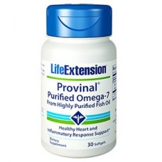 Life Extension PROVINAL® Purified Omega-7, 30 softgels (Expiry Mar 2019)