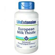 Life Extension European Milk Thistle, 120 softgels