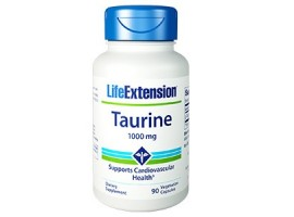 Life Extension Taurine 1000 mg, 90 vege caps