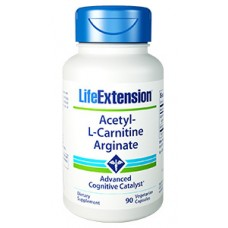 Life Extension Acetyl-L-Carnitine Arginate, 90 vegetarian capsules (Expiry Jul 2018)