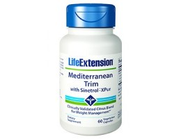 Life Extension Mediterranean Trim with Sinetrol™-XPur , 60 vegetarian capsules