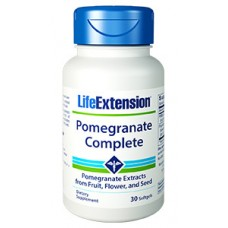 Life Extension Pomegranate Complete, 30 softgels  (Expiry Jan 2019)