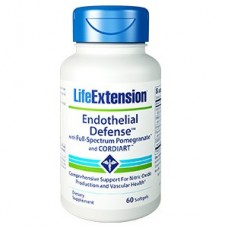 Life Extension Endothelial Defense™ with Full-Spectrum Pomegranate™ and CORDIART™, 60 softgels