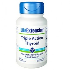 Life Extension Triple Action Thyroid, 60 vege caps